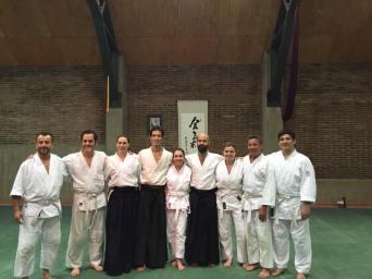 Neyun con Daiyu Sensei en seminario 2017