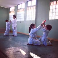 Niños en Neyün Dojo