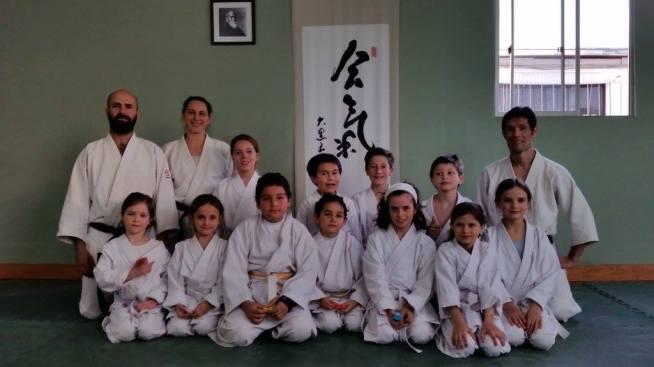 Niños Neyun con Daiyu Sensei