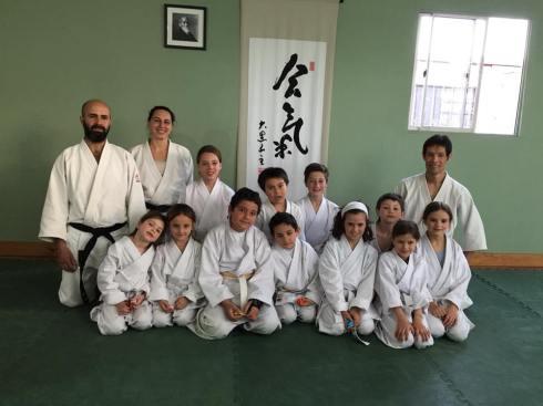 Niños Neyun, visita Daiyu Sensei